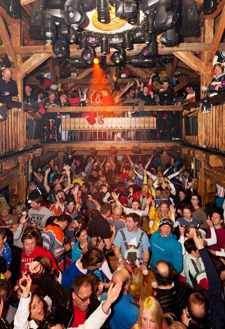 Apres Ski in Austria.  Always fun!  No one does apres better than the Austrians :)