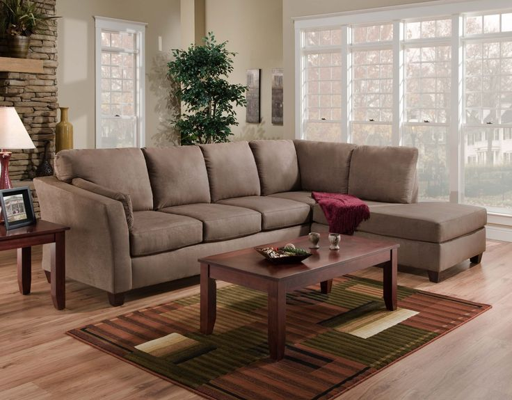 Furniture astounding gray padded living room sectionals for Nice cheap living room sets