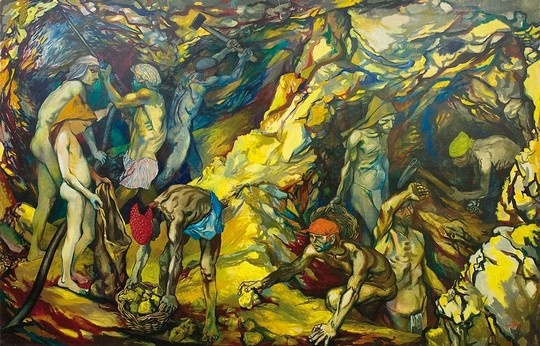 Renato Guttuso  The Sulfur Mine