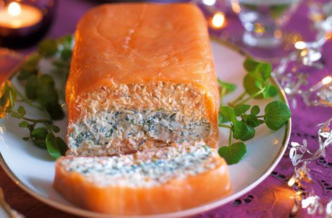 Smoked Salmon, Crab and Watercress Terrine - Tesco Real Food - Tesco Real Food