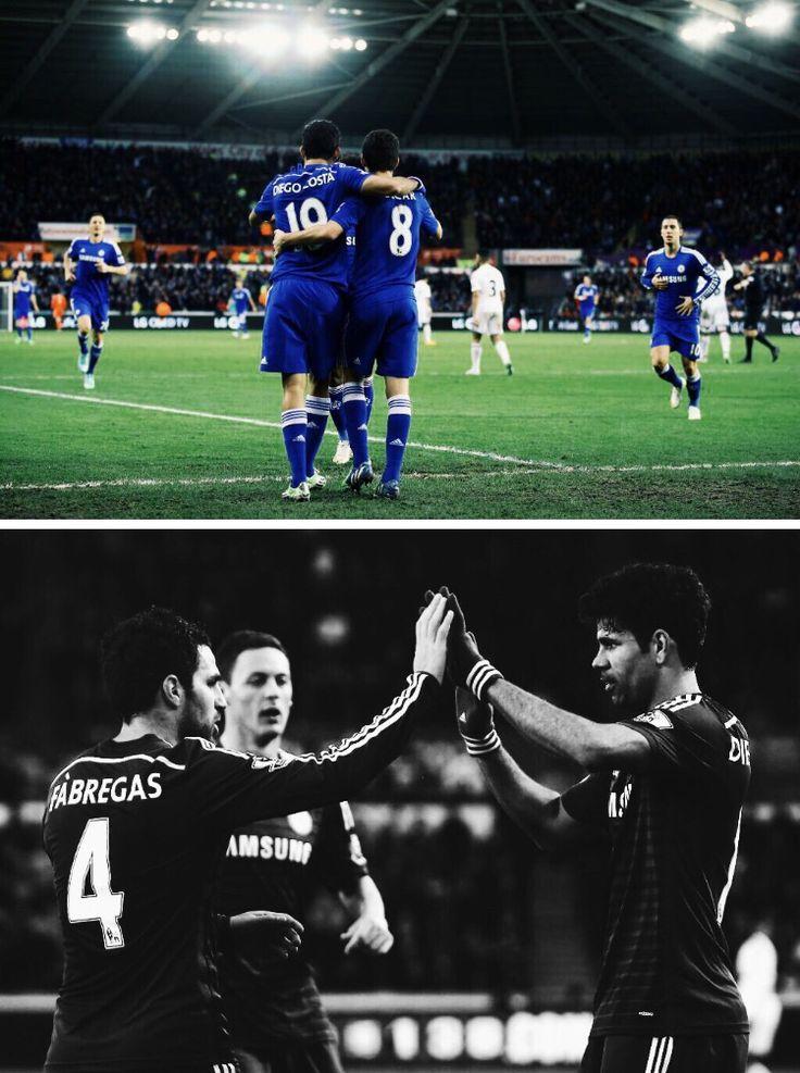 Swansea 0-5 Chelsea #ktbffh #upthechels