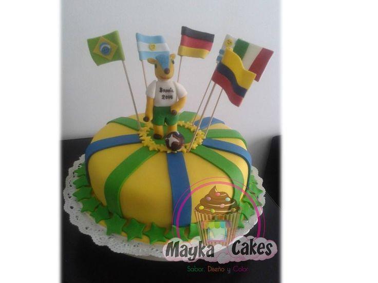 Cake Mundial de Futbol