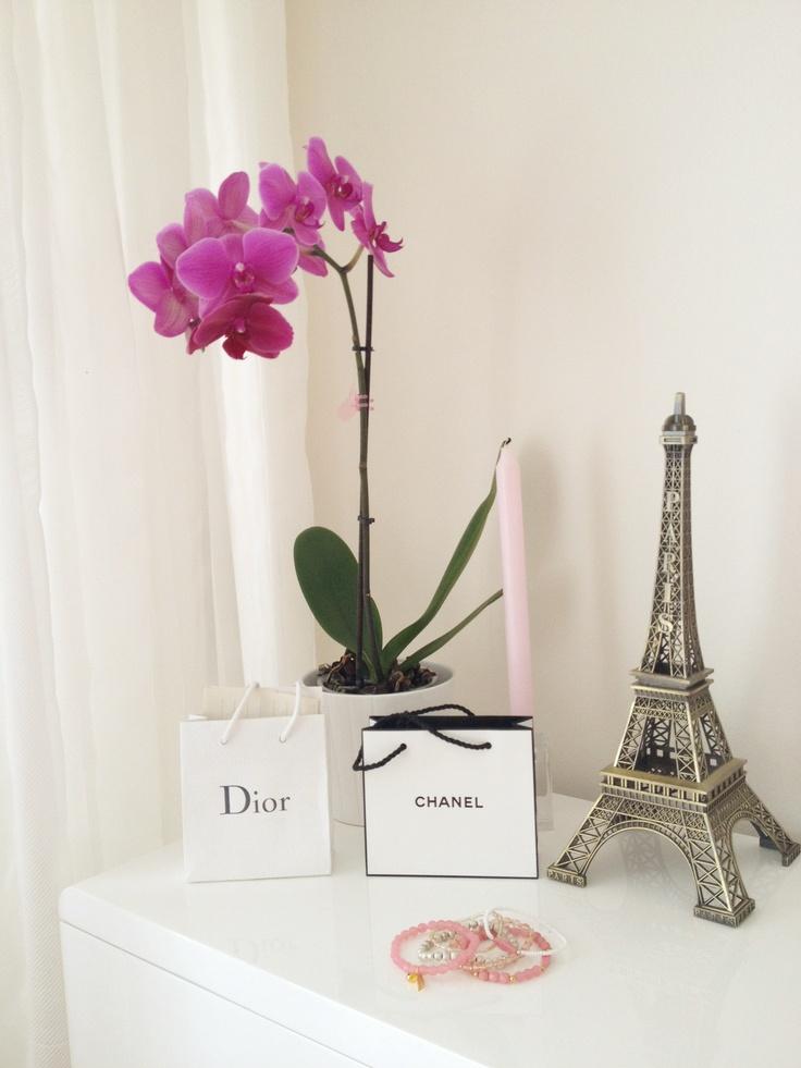 Coco Home Decor Eiffel Tower Chanel Dior Chanel