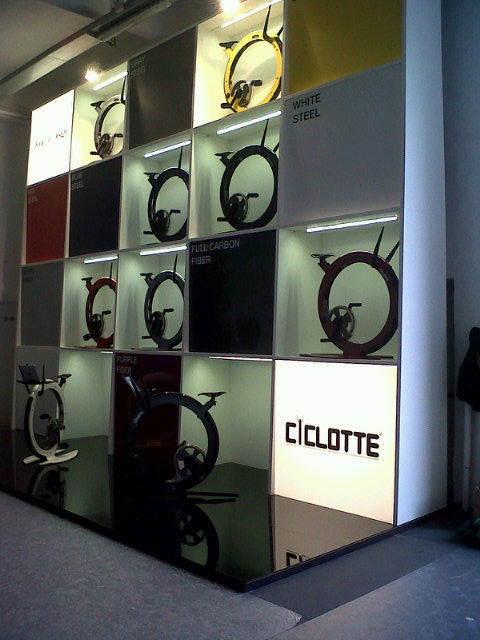 #Ciclotte's Stand at Temporary Museum of New #Design #Milan