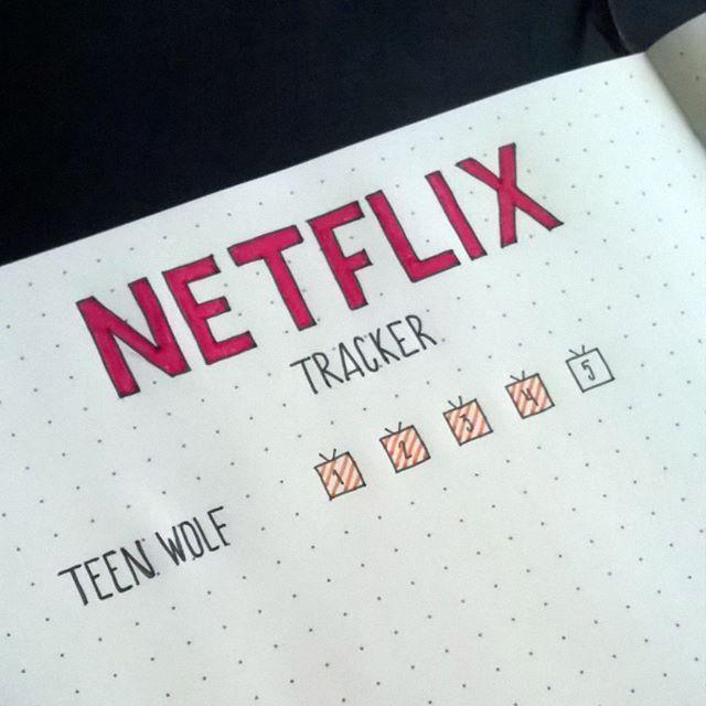 Tracker for Netflix Series'! #bulletjournal #planner #organizer # bujocommunity …