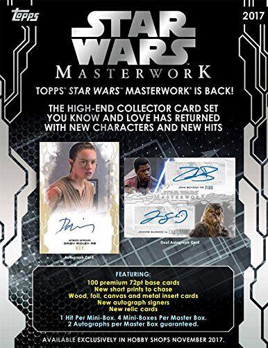 2017 Topps Star Wars Masterwork Hobby Box //Price: $224.95 & FREE Shipping //     #starwarsmeme