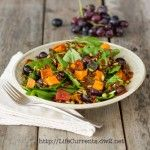 A deliciously healthy salad! What a great combination of flavors!.