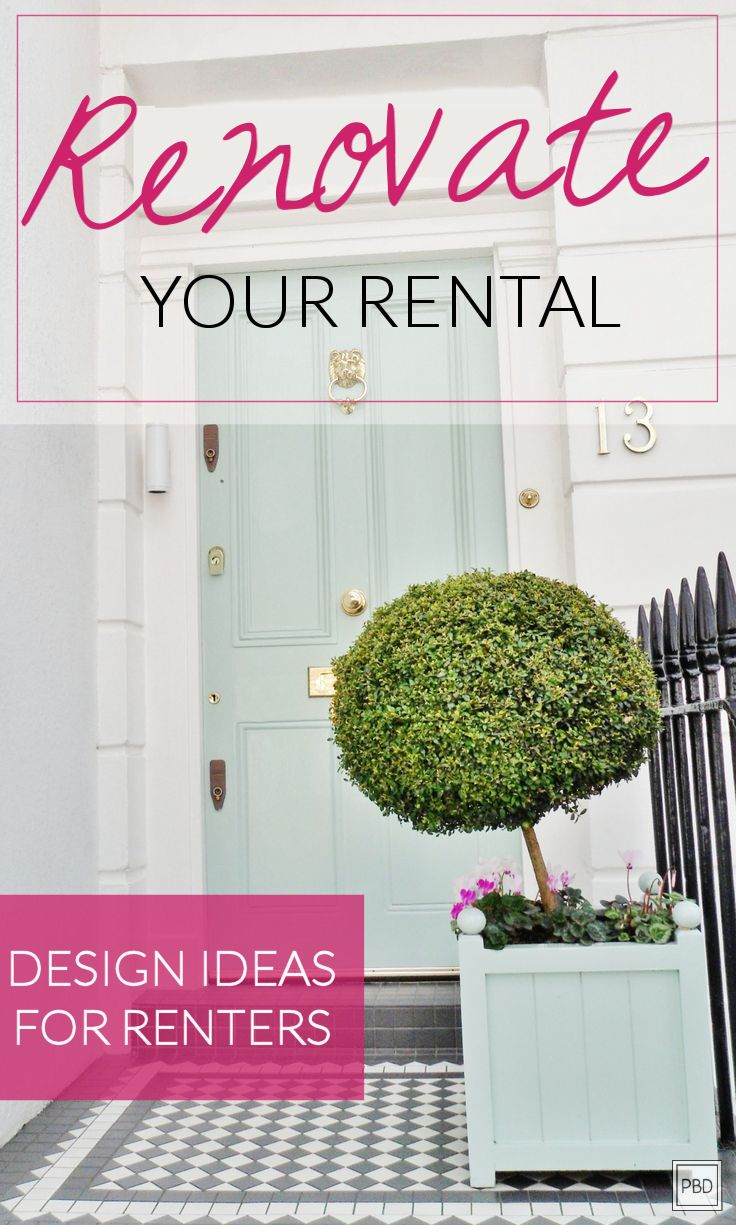 Rental Home Decorating Ideas: Ideas For...the Home