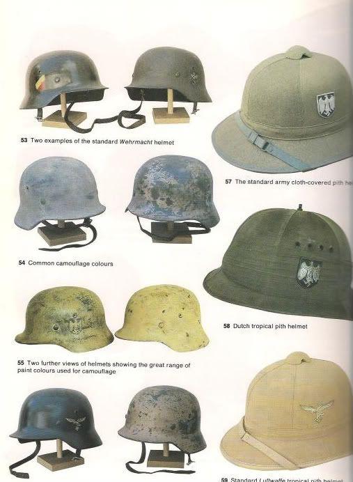DAK and German helmets