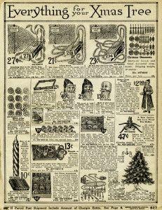 Vintage Christmas Decorating ~ Free Printable Catalogue Page #3