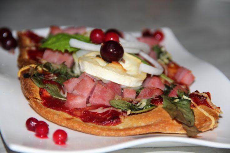 Godt og Sunt: Pizza med Løvetann og Ripssaus