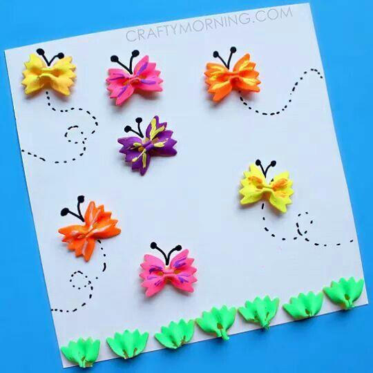 Farfalle di pasta DIY