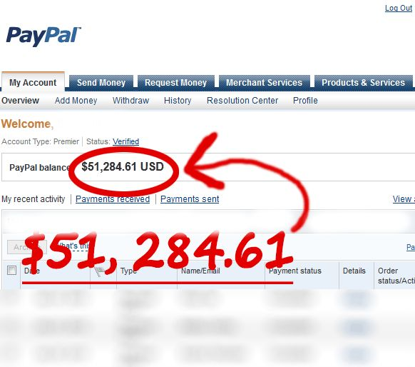 Get Unlimited Money in your PayPal Account with Our Working PayPal Money Adder. Check it out here: http://tech.swimhealth.net/paypal-money-adder-online-free-paypal-money/