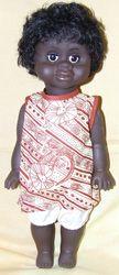 "Aboriginal Girl Doll [small - 13""] Price:  $27.00"