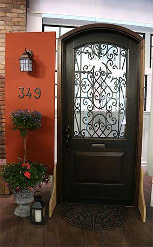 Traditional Statement Front Door