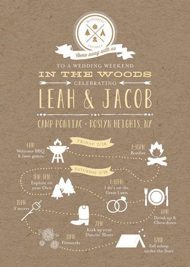 Un zest de modernité à votre mariage : osez l'infographie !