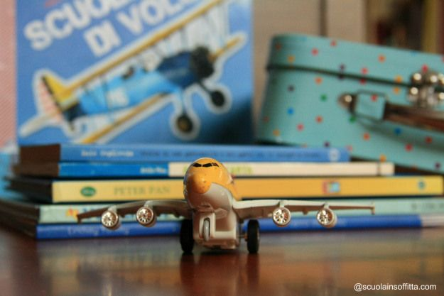 libri per bambini su aerei e volo