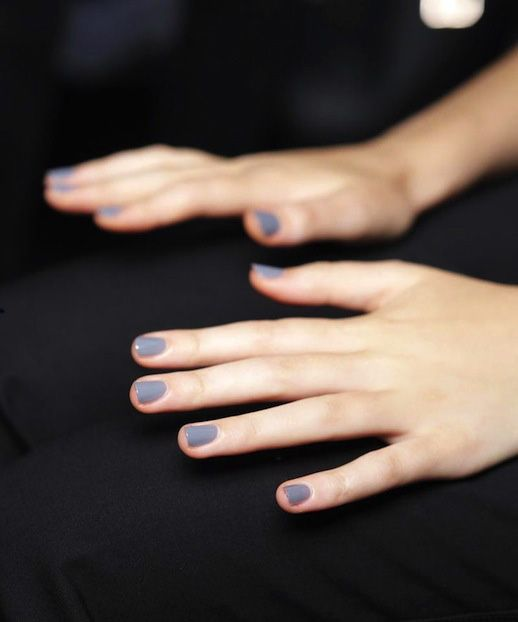 Nail Color Inspiration: Lavender Grey #manicure #nails #nailpolish