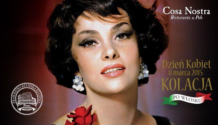 Cosa Nostra zadba o wszystkie Panie w dniu Waszego święta! :) szczegóły na naszej stronie internetowej http://cosanostra.krakow.pl/pl/promocje/