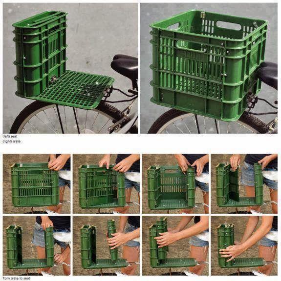 Ideas para hacer un asiento reciclado para el jardín.