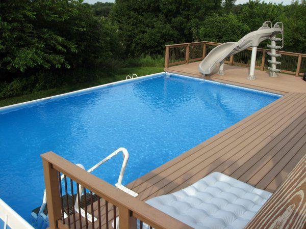 25 beste idee n over piscine hors sol bois op pinterest for Piscine 3x5