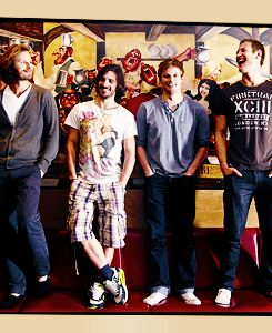 Aside from Eoin dressing like a 12 year old boy, yum...