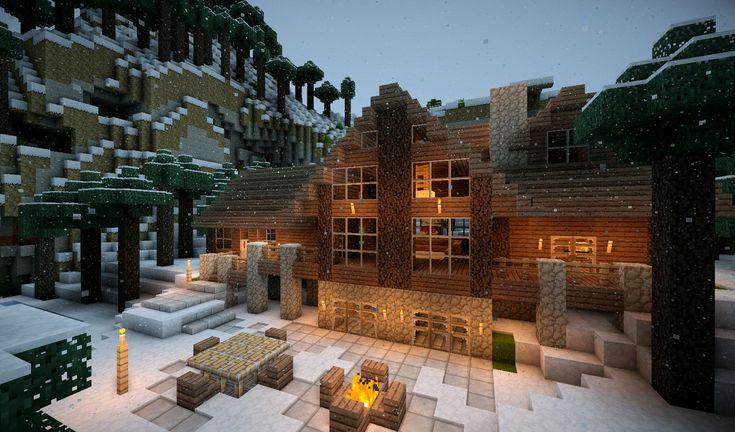 Winter Minecraft House Design on ponyville house, terraria winter house, cats winter house, cartoon winter house, fluttershy's house, the sims 3 winter house, pallet chicken house,