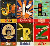 ilustrated alphabet