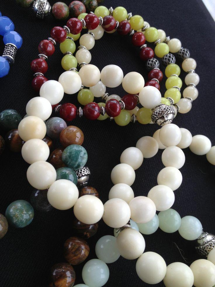 Tagua Mala bracelets