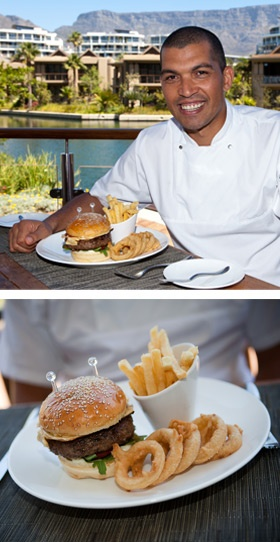 From Reuben's, Executive Chef Reuben Riffel serves up his take on this guy favourite – the Deli Burger.