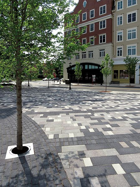 Mansfield Town Square at Storrs Center - Unilock Commercial