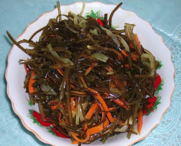Салат из морской капусты диетический