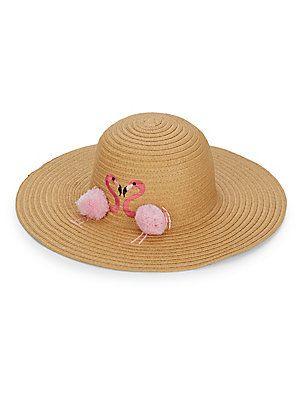 c43fe823db2bb5 Collection 18 Flamingo Pom-Pom Floppy Hat |