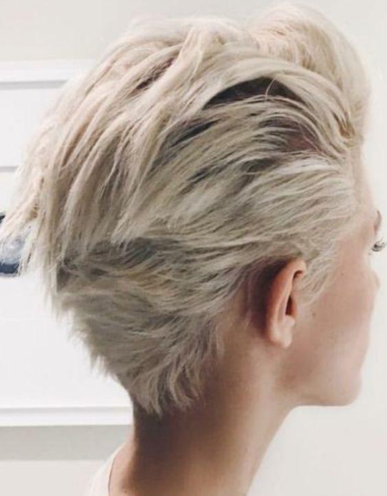 New Pretty Pixie Haircut Ideas for Thick Hair in 2019 – Page 20 of 25 – #Hair #Haircut #Ideas #page #Pixie