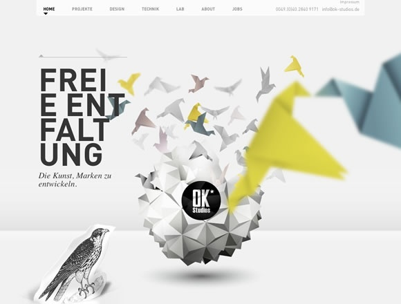 18 Beautiful Examples of Parallax Scrolling in Web Design | Inspiration