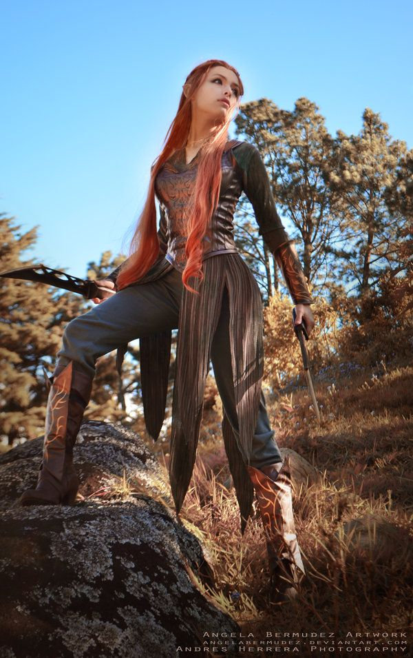 The Hobbit: The Desolation of Smaug Tauriel Cosplay - Imgur