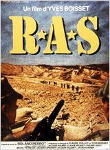R.A.S. (Rien A Signaler) : Film francais et italien guerre, drame - avec : Jacques Spiesser, Jacques Weber, Philippe Leroy - 1973