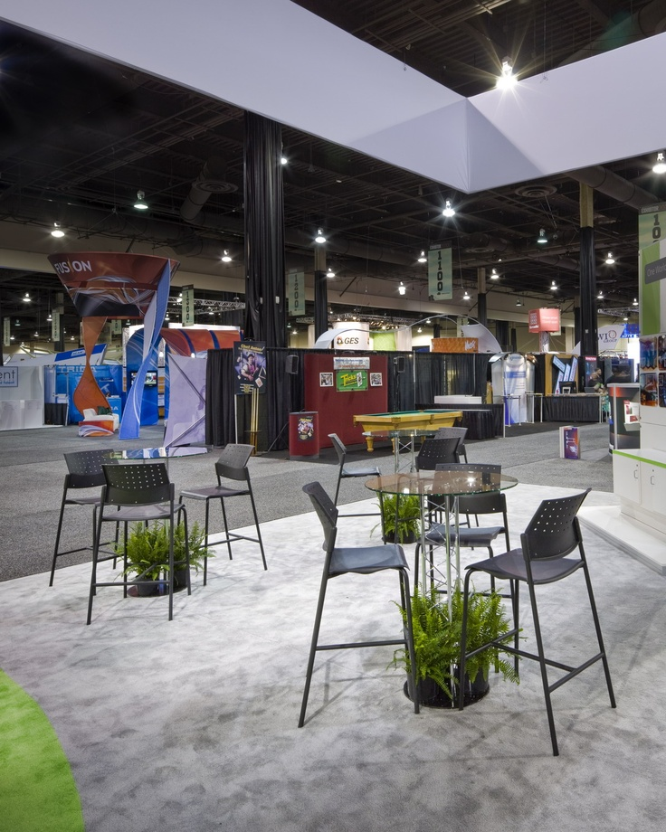 Trade Show Booth Lounge : Best images about tradeshow booths by afr on pinterest