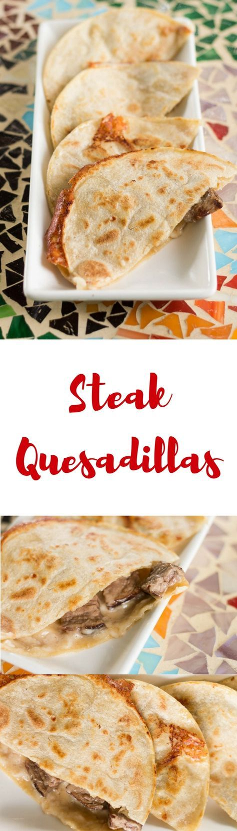 If you've never used corn tortillas to make steak quesadillas, you're in for a treat! This steak quesadilla recipe is super easy and so delicious. #AuthenticSalsaStyle #ad @HerdezBrand @walmart