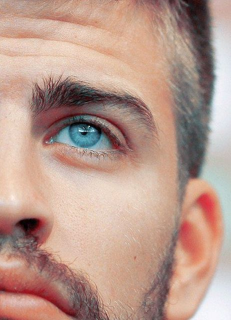 I just read that all blue-eyed people desended from one person...so that means you are all related. :)