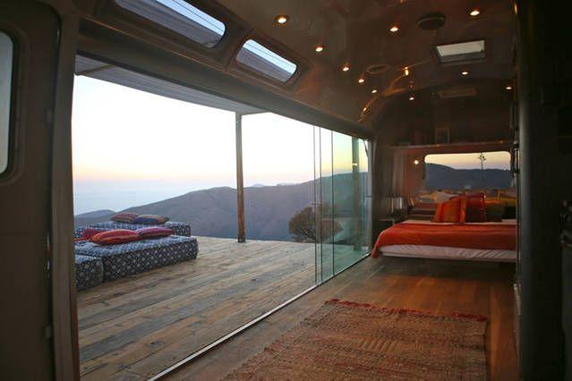 Malibu Dream Airstream Airbnb Mobile Trailer Trash