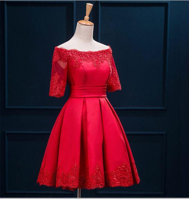 короткие вечерние платья 2017