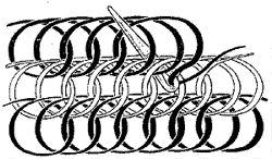 *A basic method of naalbinding. Otro sitio muy interesante es http://www.kaspaikka.fi/koti/kleinone/neulakinnas/index.html