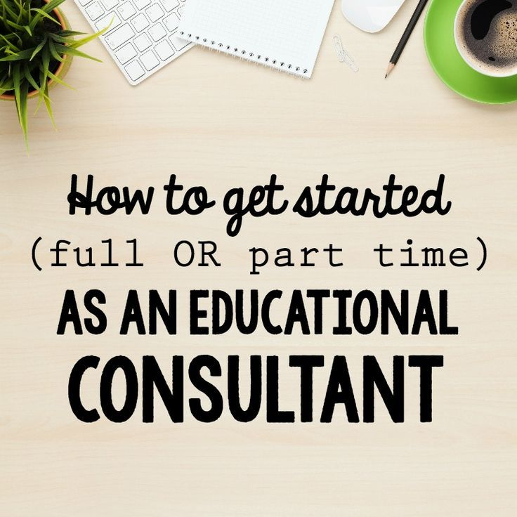 Very practical advice for anyone wanting to start doing educational consulting