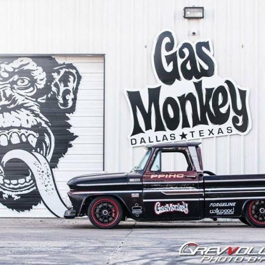 Classic Truck Gas Monkey Garage.Classic Car Art&Design @classic_car_art #ClassicCarArtDesign