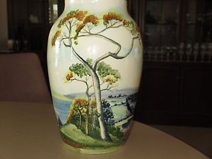 Diana Hand Painted Vase 1954