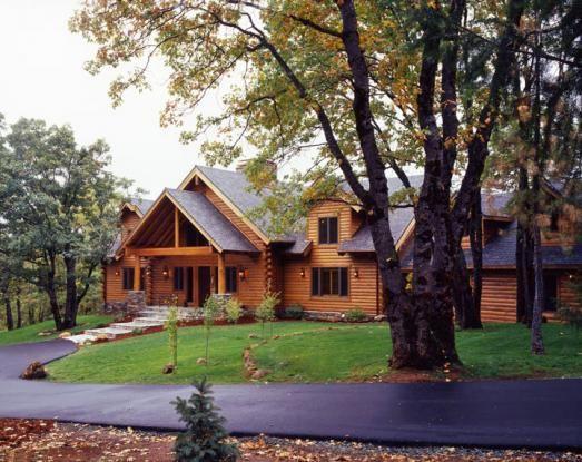 117 best Real Log Homes images on Pinterest Log homes Wood homes