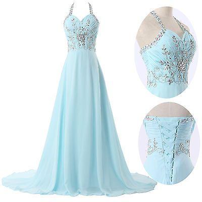 Elegants longue Robes de Soirée Partie Cocktail mariée Demoiselle d'honneur Robe