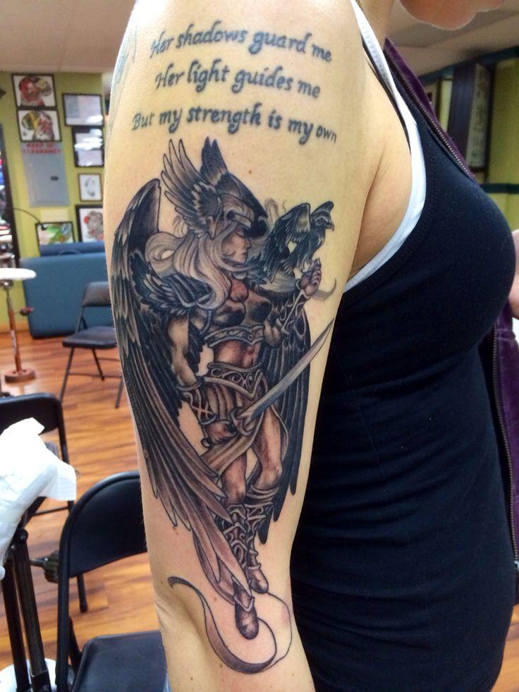 valkyrie black and grey my tattoos