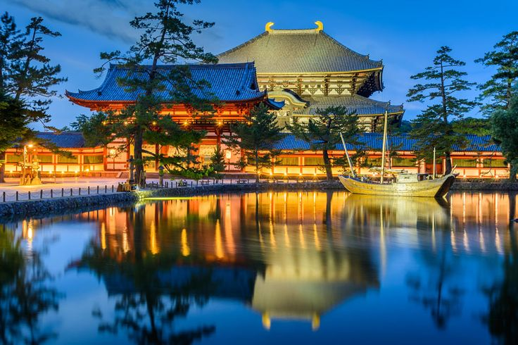Todai-ji Temple at night by dohitsch on 500px